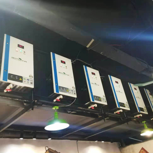 Kitchen Commercial Electrostatic Exhaust Purifier