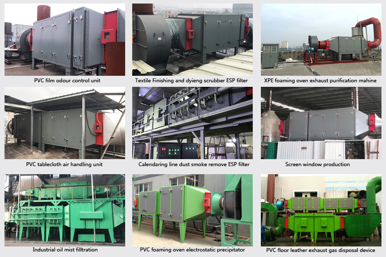 Industrial Air Purifier System