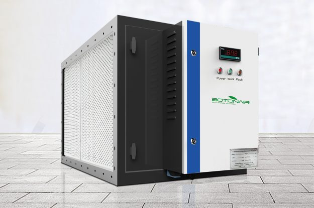 Commercial Kitchen Electrostatic Precipitator Cooking Exhaust Purification System