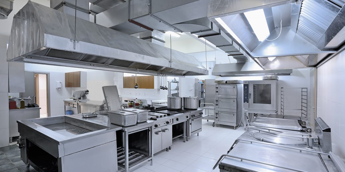 General Design Principle of Public Commercial Kitchen Layout
