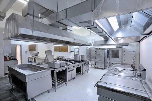 General Design Principle of Public Commercial Kitchen Layout