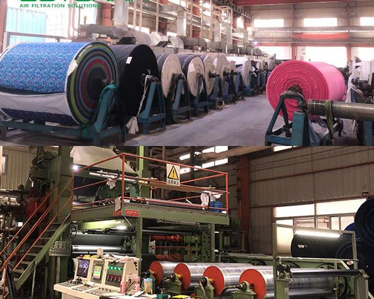 Industrial ESP Filters Project for PVC foaming lines