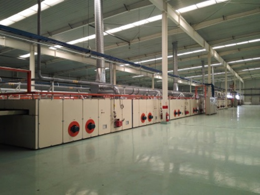 Smoke Purification System for Fabric Stenter Production Lines
