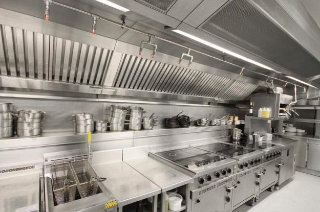 The Basic Composition of a Commercial Kitchen