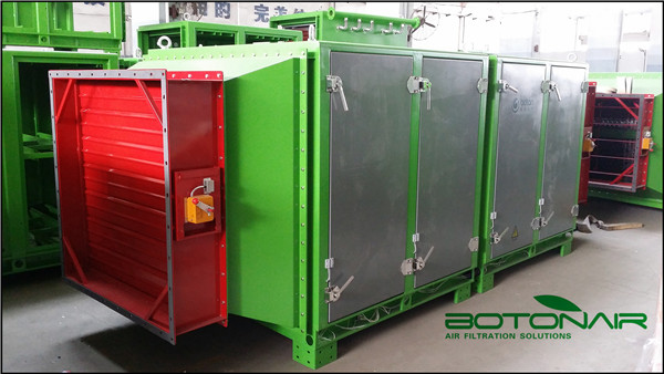 How important of fire suppression system on electrostatic precipitator?
