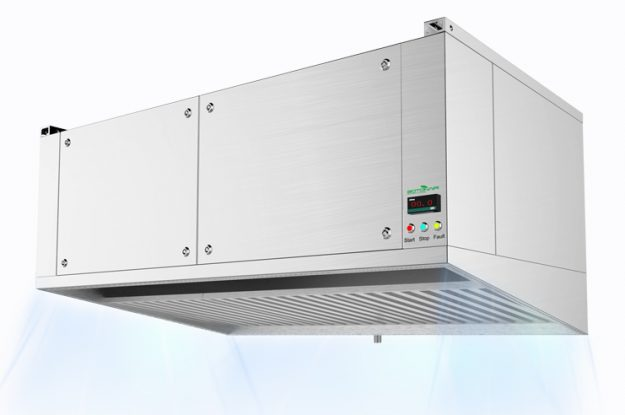 Kitchen Hybrid Hood for Cooking Waste Gas Cleaning System