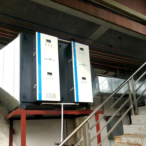 Food Manufacturer Cooking Ventilation System