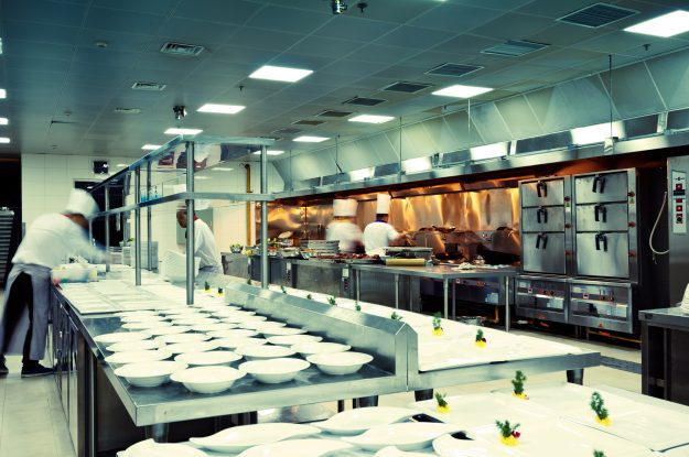 Principles of Combination of Fans and Ducts in Commercial Kitchens