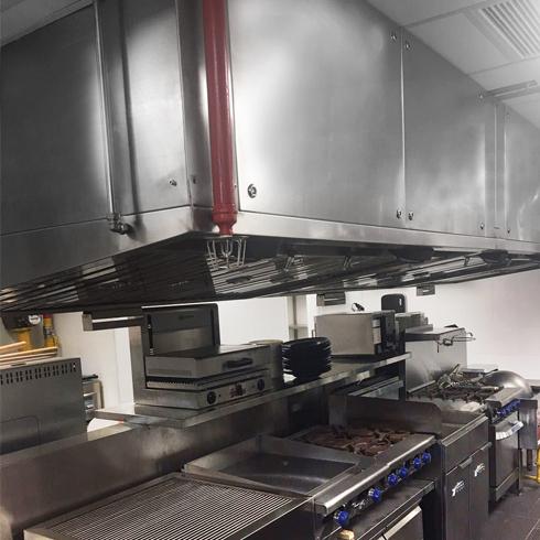 Kitchen ESP Hood